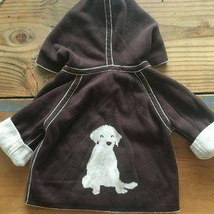 Amber Hagen Reversible Cotton Cashmere zip Sweater